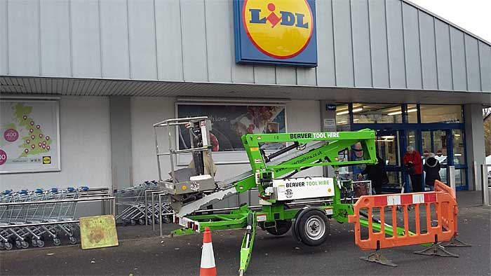 Civil engineering for Lidl