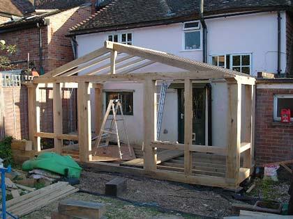 building company available for house and home extensions