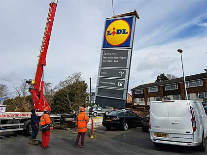 Oneill Building Contractors working with Lidl