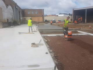 groundworks project Covers Southampton