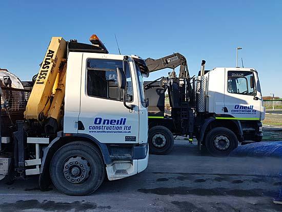 O'Neill Building Contractors Transport